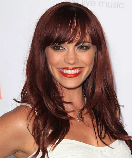 Jessica Sutta Long Straight Formal Hairstyle
