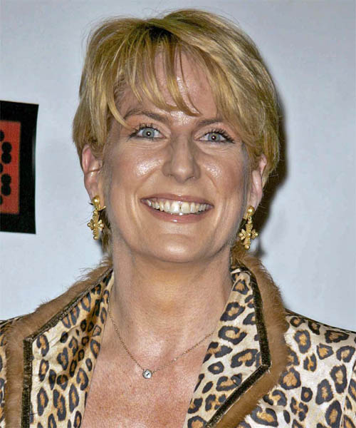 Felicia Taylor Short Straight Casual Hairstyle
