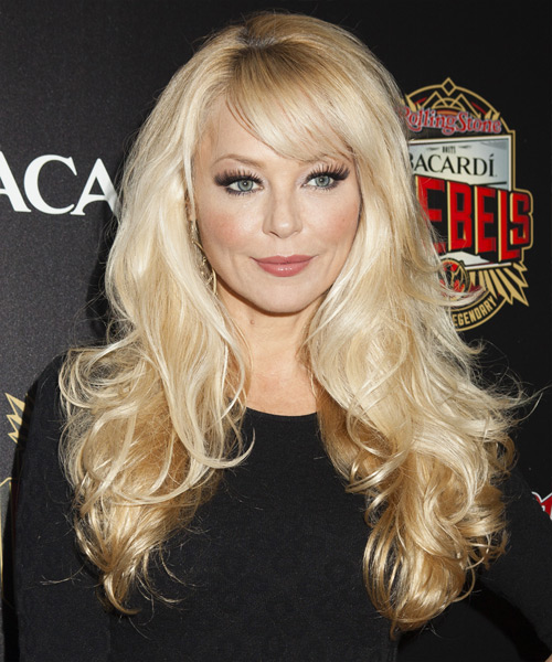 Charlotte Ross Long Straight Formal Hairstyle