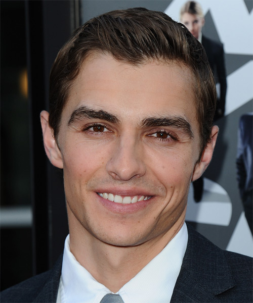 Dave Franco Short Straight Formal Hairstyle