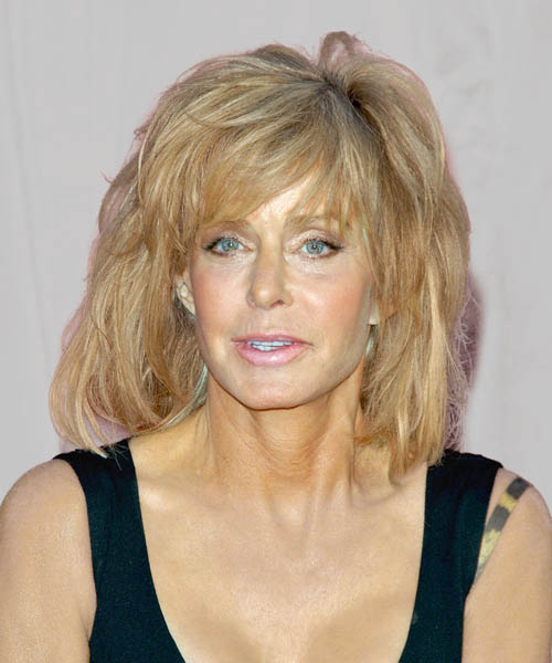 Farrah Fawcett - Casual Medium Straight Hairstyle
