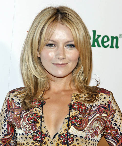 Becki Newton Long Straight Hairstyle