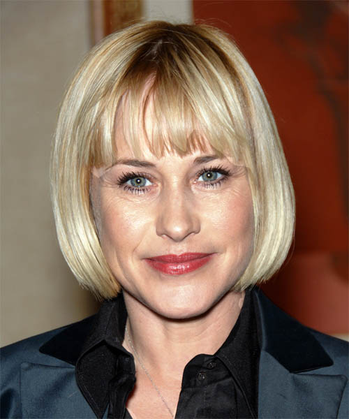 Patricia Arquette Short Straight Casual