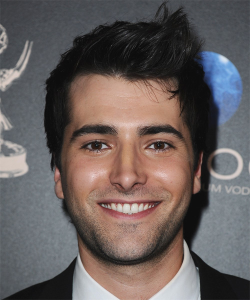 Freddie Smith Short Straight Casual Hairstyle - Black Hair Color