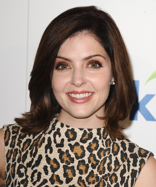 Jen Lilley Medium Straight Hairstyle