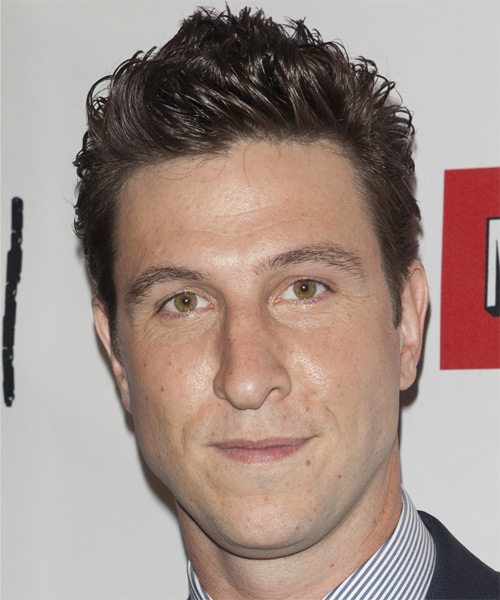 Pablo Schreiber Short Straight Casual Hairstyle