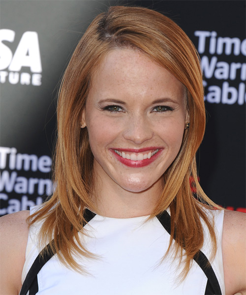 Katie Leclerc Medium Straight Hairstyle