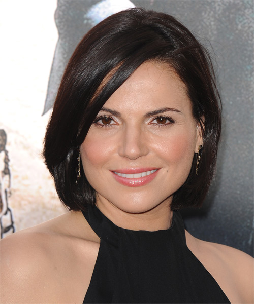 Lana Parilla Medium Straight Hairstyle