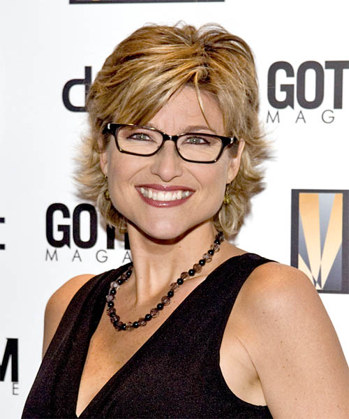 Ashleigh Banfield Short Straight Hairstyle