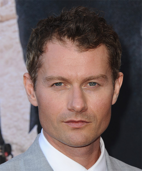 James Badge Dale Short Wavy Casual Hairstyle