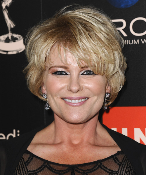 Judi Evans Short Straight Hairstyle