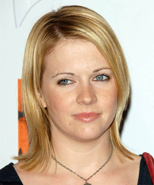 Melissa Joan Hart Medium Straight Casual Hairstyle