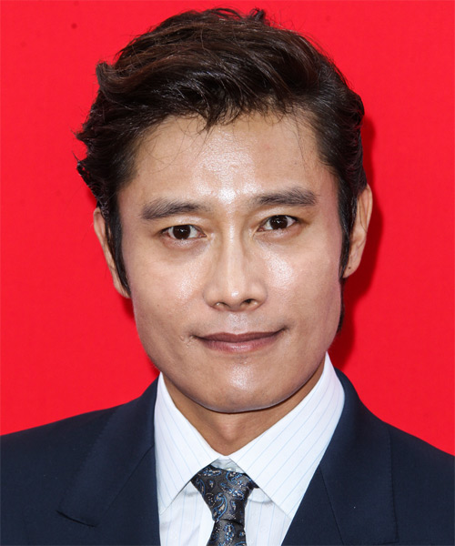 Byung Hun Lee Short Straight Formal Hairstyle
