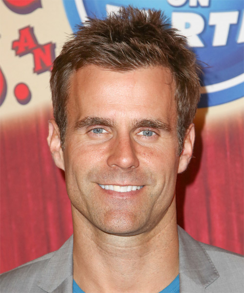 Cameron Mathison Short Straight Hairstyle
