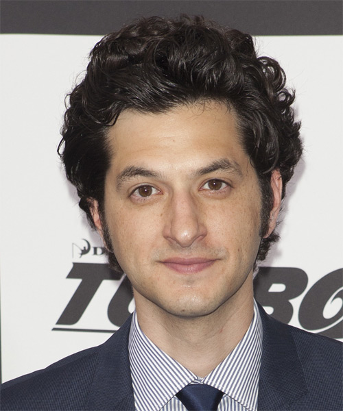 Ben Schwartz Medium Wavy Hairstyle