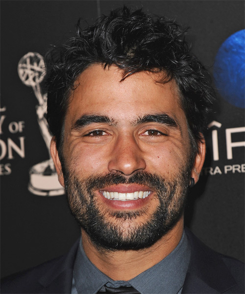 Ignacio Serricchio Short Straight Hairstyle