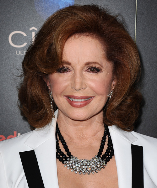 Suzanne Rogers Medium Wavy Formal Hairstyle