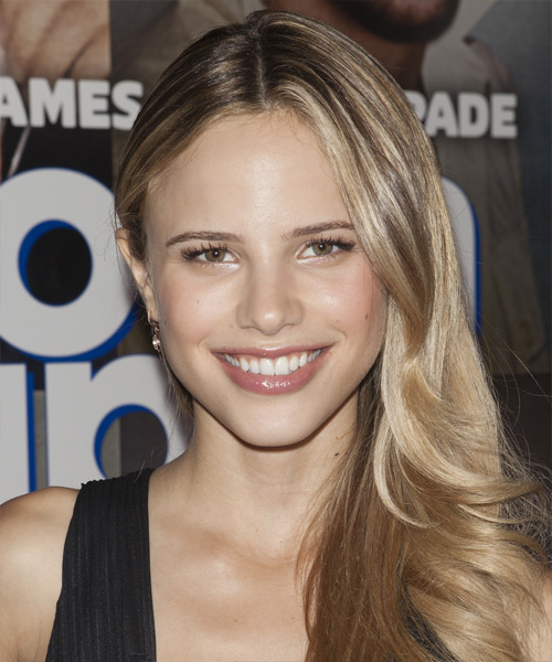 Halston Sage Long Straight Hairstyle