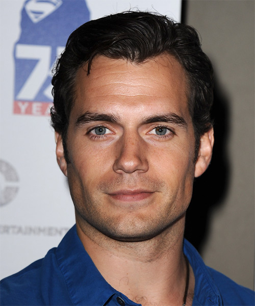 Henry Cavill Short Straight Hairstyle
