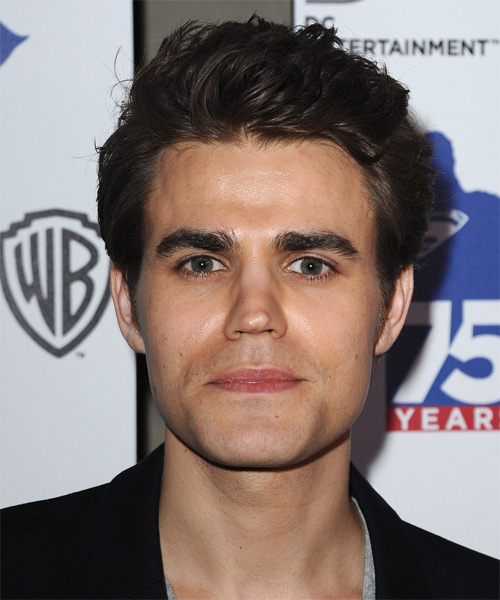 Paul Wesley Short Straight Casual Hairstyle