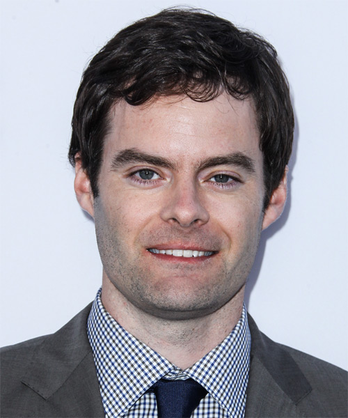 Bill Hader Short Wavy Casual Hairstyle