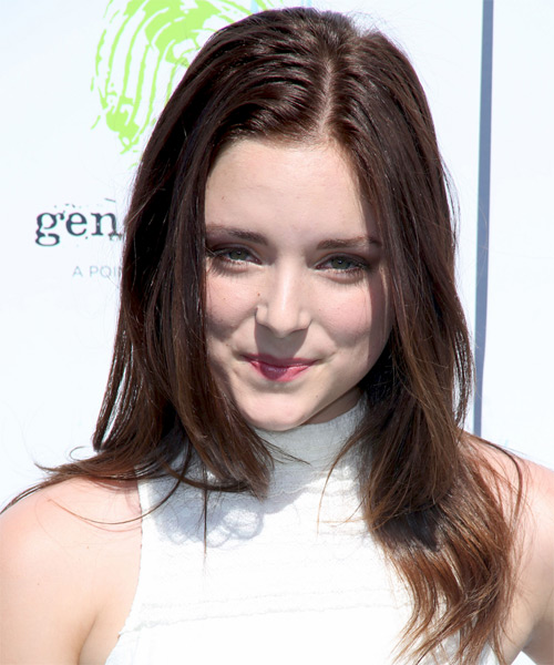 Madison Davenport Long Straight Casual Hairstyle