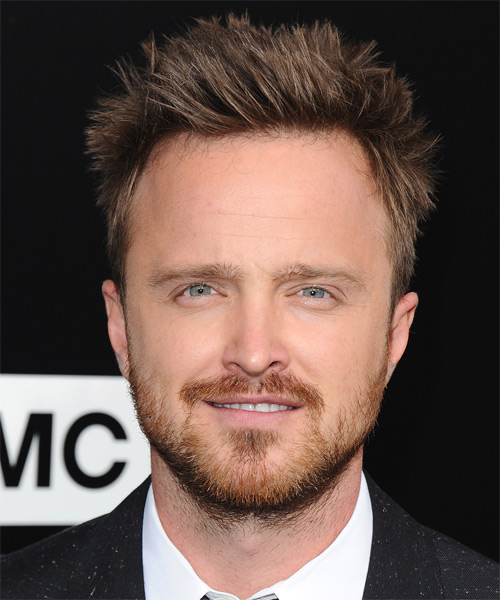 Aaron Paul Short Straight Hairstyle