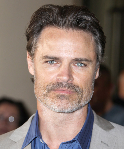 Dylan Neal Short Straight Formal Hairstyle