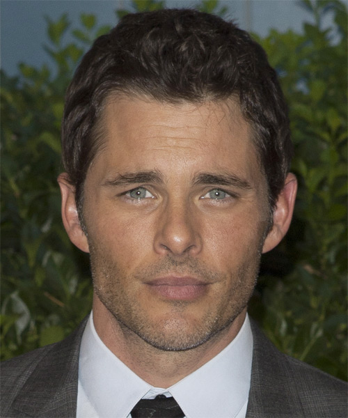 James Marsden Short Wavy Hairstyle