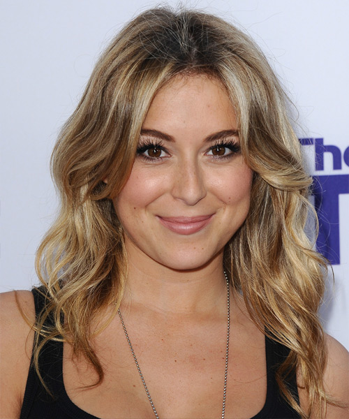 Alexa Vega Long Wavy Hairstyle
