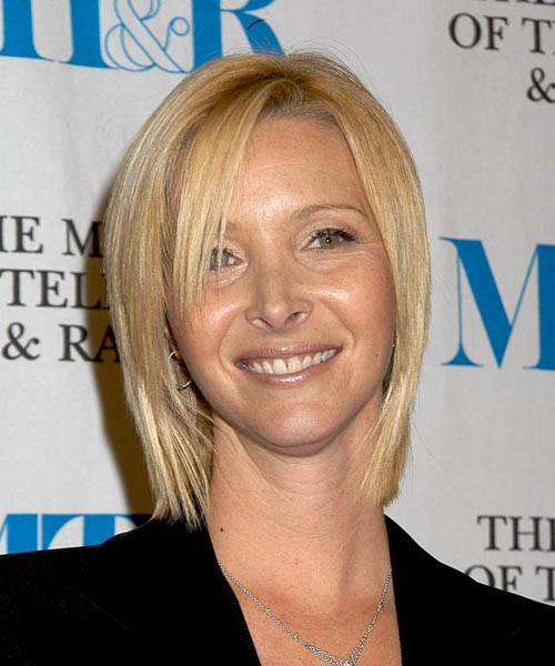 Lisa Kudrow - Casual Medium Straight Hairstyle