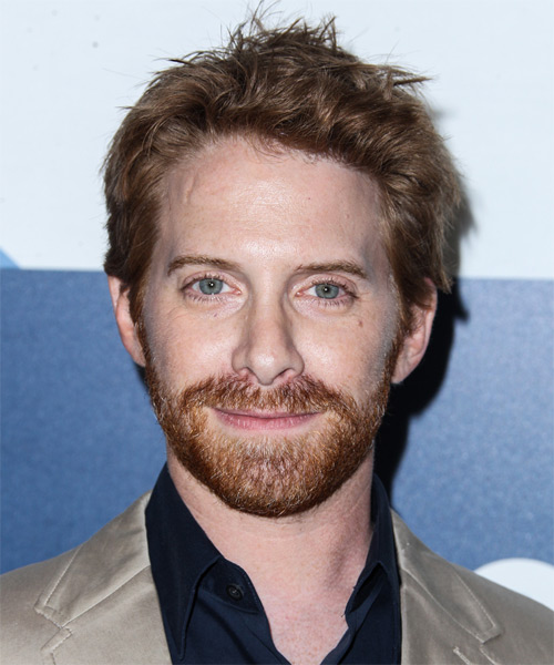 Seth Green Short Straight Hairstyle (Chestnut)