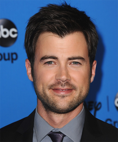 Matt Long Short Straight Casual Hairstyle