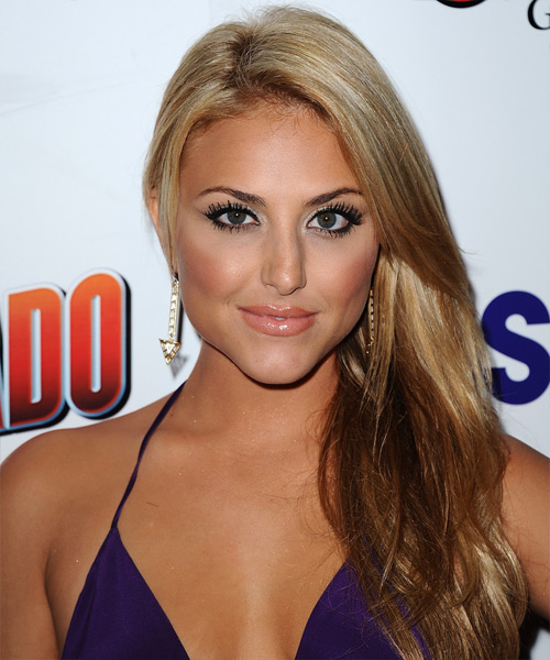 Cassie Scerbo Long Straight Hairstyle