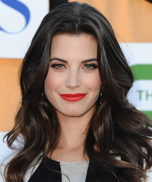 Meghan Ory Long Wavy Casual Hairstyle
