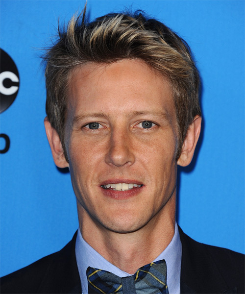 Gabriel Mann Short Straight Casual Hairstyle