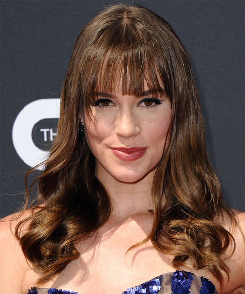 Christa B Allen Long Wavy Hairstyle