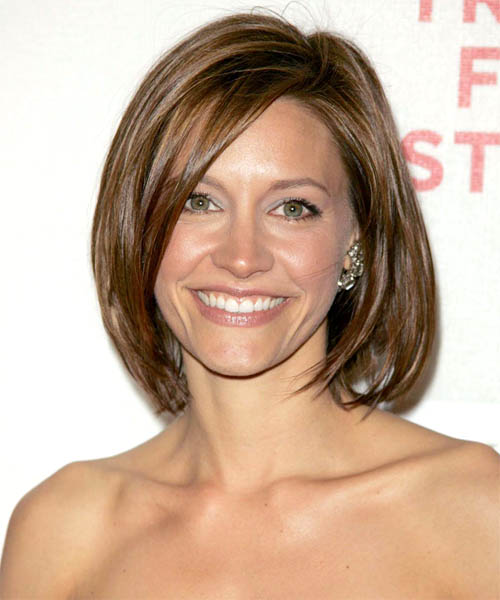KaDee Strickland Medium Straight Hairstyle