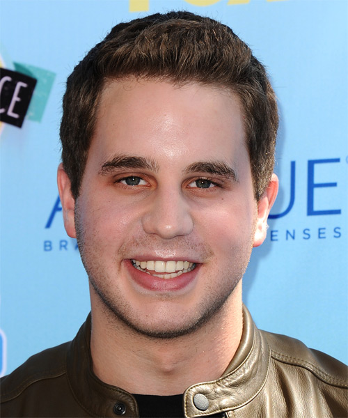Ben Platt Short Straight Casual Hairstyle