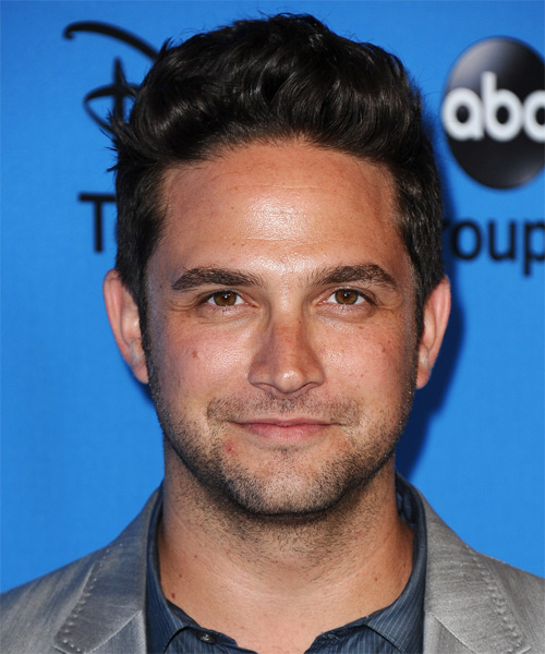 Brandon Barash Short Straight Casual Hairstyle