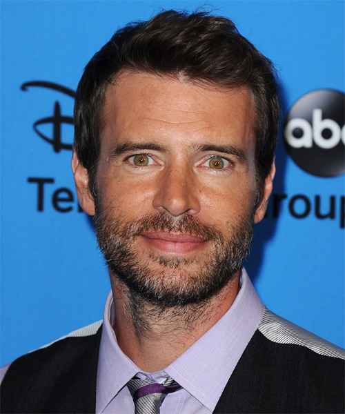 Scott Foley Short Straight Casual Hairstyle