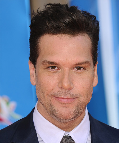 Dane Cook Short Straight Hairstyle - Dark Brunette