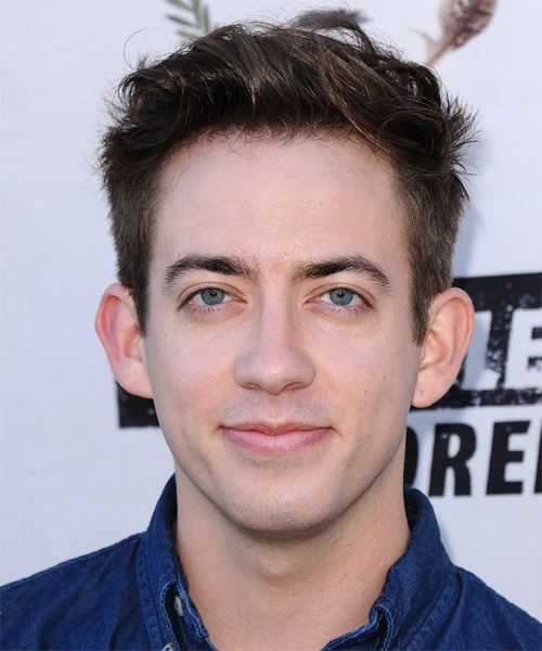 Kevin McHale Short Straight Hairstyle