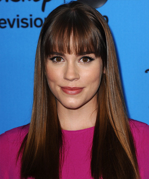 Christa B Allen Long Straight Hairstyle
