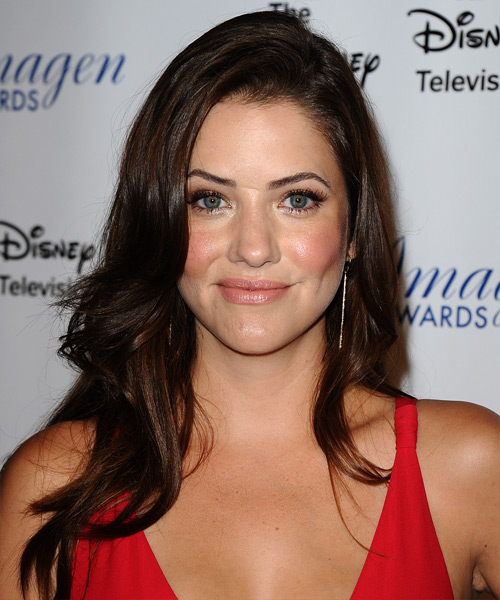 Julie Gonzalo Long Straight Hairstyle