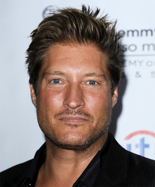Sean Kanan Short Straight Hairstyle