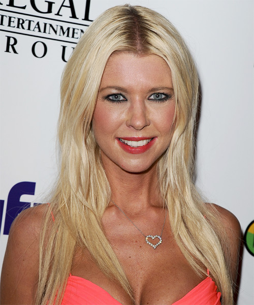 Tara Reid - Straight  Long Straight Hairstyle