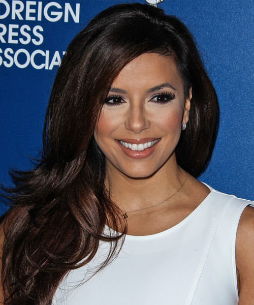 Eva Longoria Long Straight Formal Hairstyle