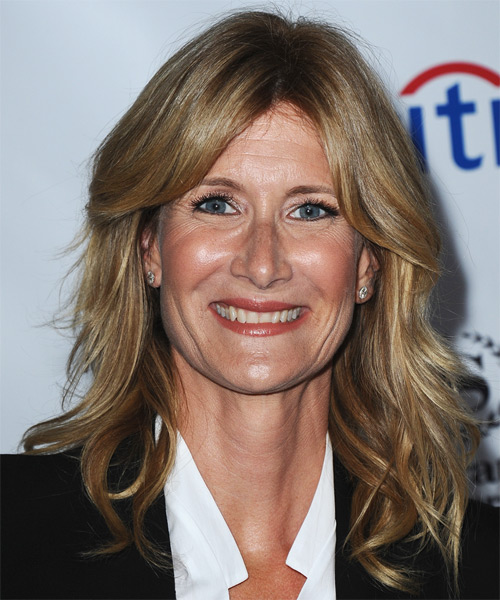 Laura Dern Long Straight Casual Hairstyle