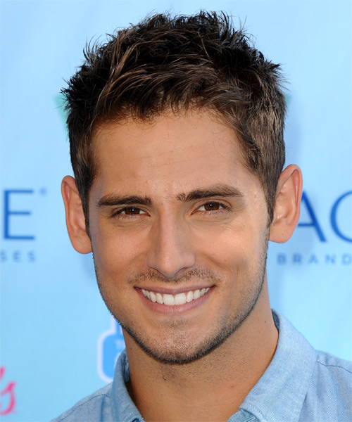 Jean Luc Bilodeau Short Straight Casual Hairstyle - Medium Brunette Hair Color